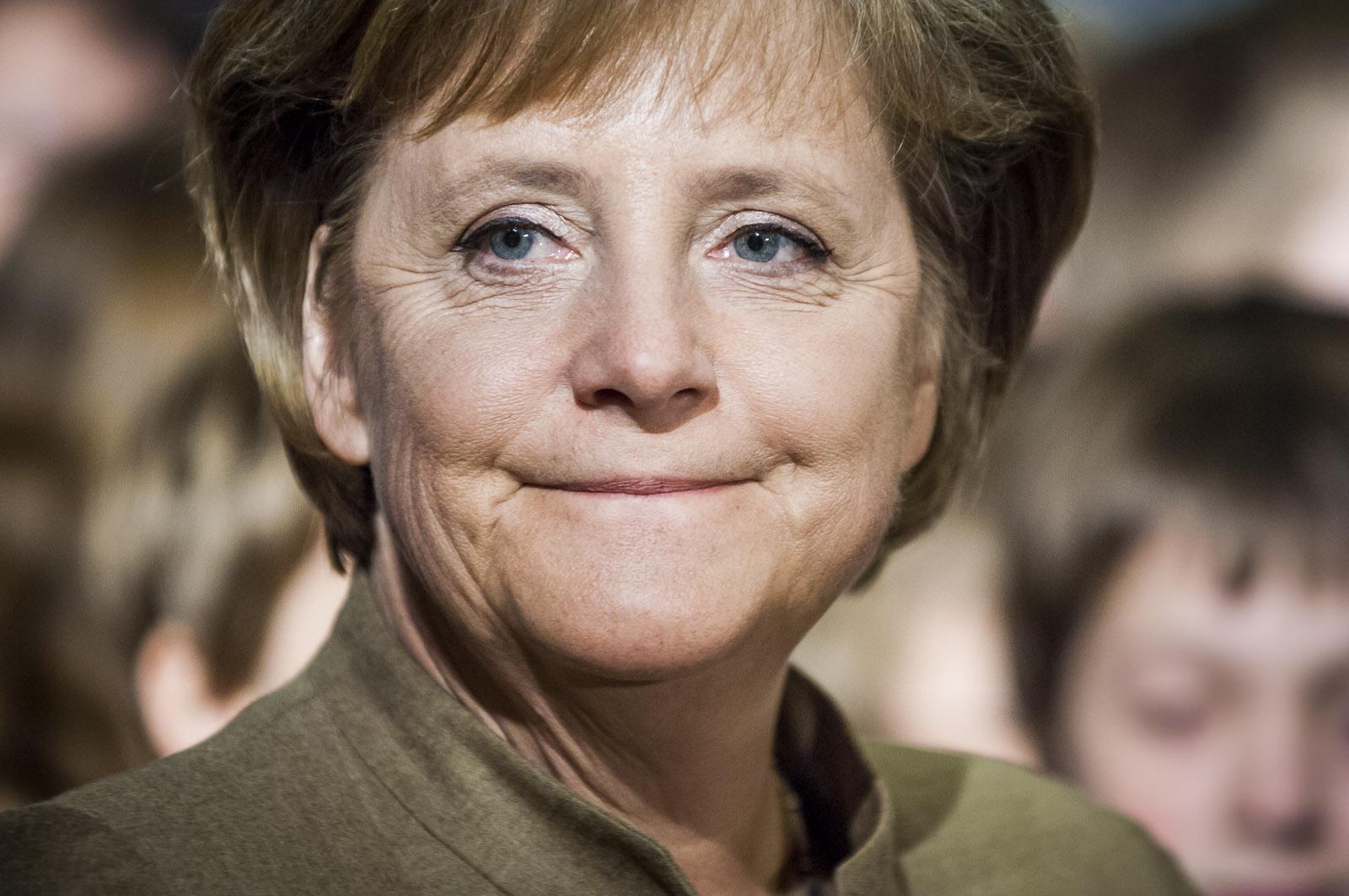 VERANSTALTUNGEN: Angela Merkel, Bundeskanzlerin