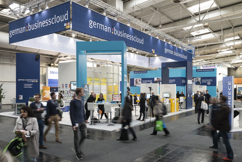Cloud Eco System auf der Cebit, Hannover