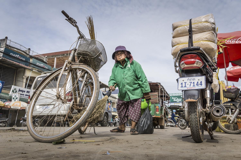 Frank Peters, Reportage in Kampot, Kambodscha