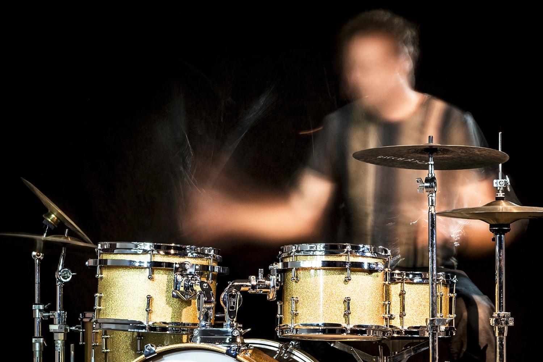 Fotografie Frank Peters, Oliver Schmidt, Schlagzeuger und DJ
