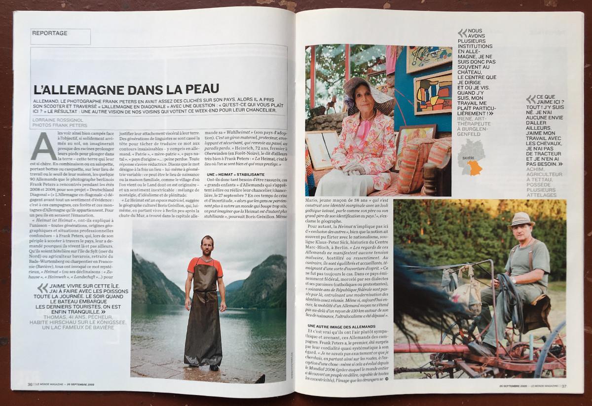 Le Monde Magazine - deutschland diagonal