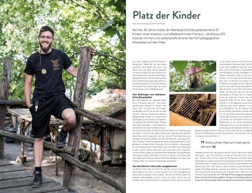 Portrait für das Himbeer-Magazin
